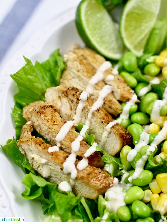 Dairy free chicken salad with ranch dressing
