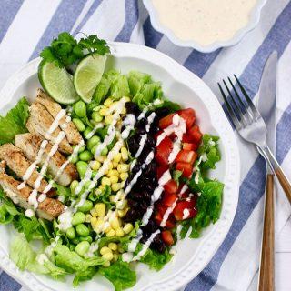Southwest BBQ Chicken Salad