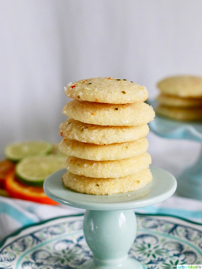 Lemon Sugar Cookies on UrbanBlissLife.com