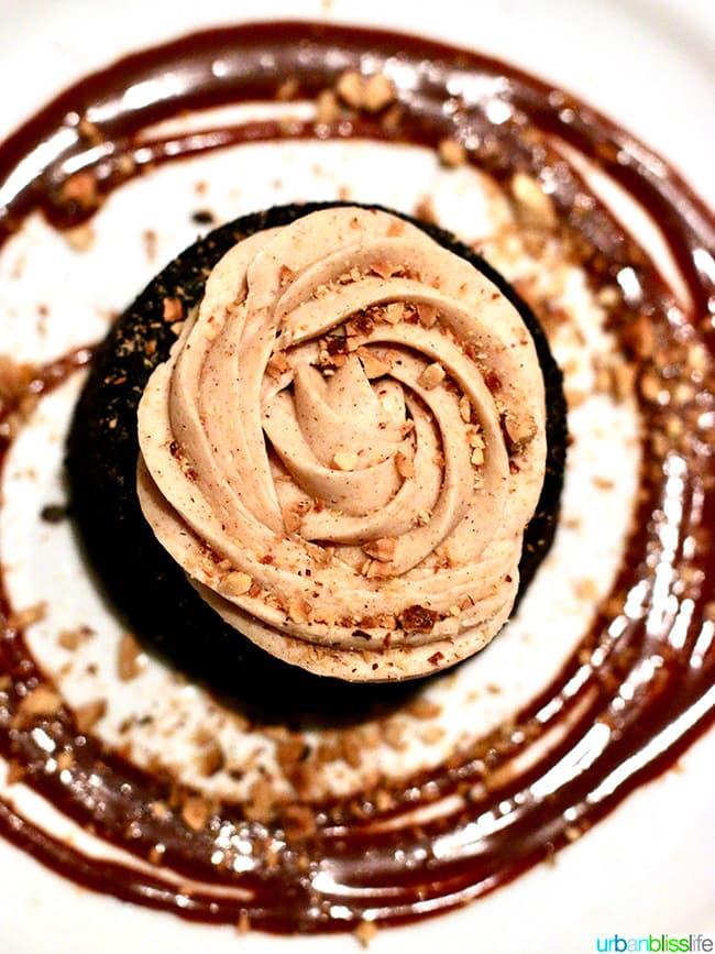 Gracie's restaurant espresso chocolate cake