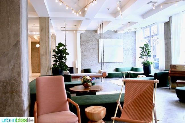 Portland Boutique Hotels: The Hi-Lo lobby