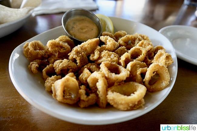 calamari at Kyllo's Restaurant