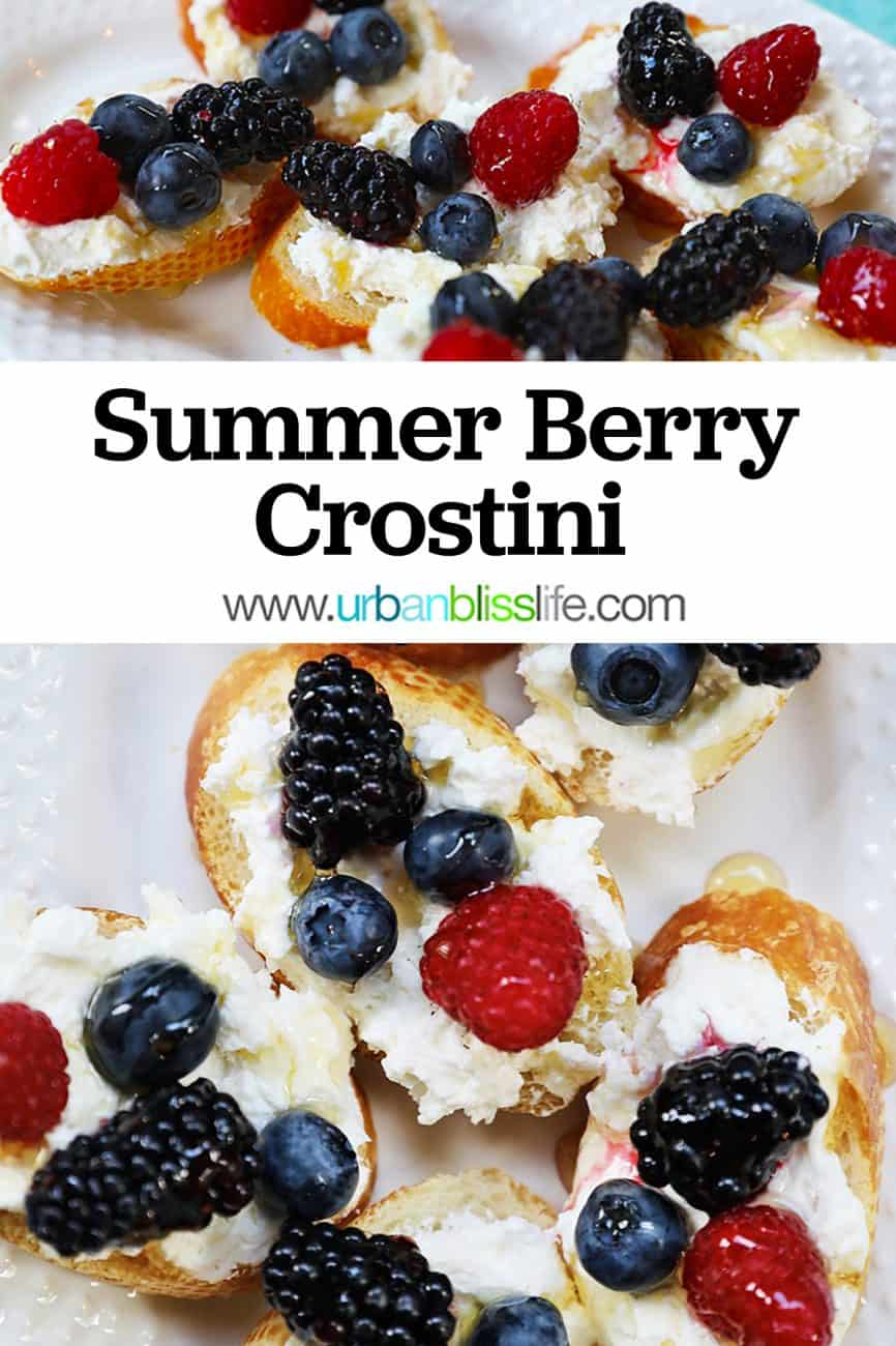 main graphic for ricotta crostini with summer berries