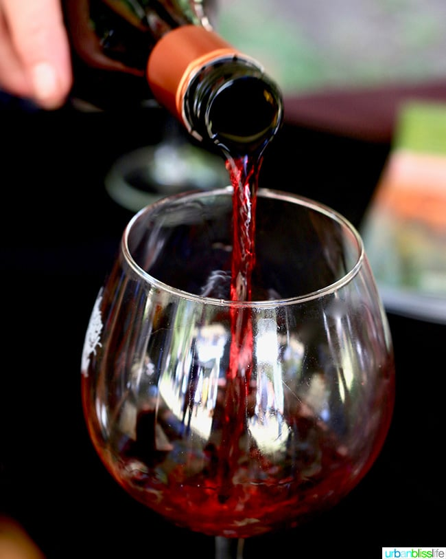 Anderson Valley Pinot Noir Festival Red Wine Pour