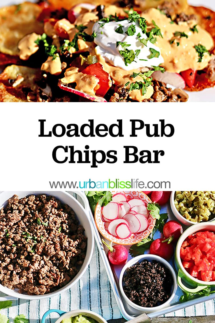 Loaded Pub Chips