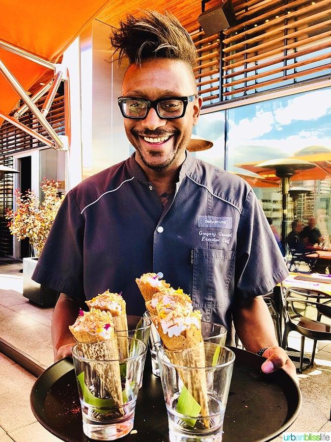 Chef Gregory Gourdet Departure restaurant summer ice cream