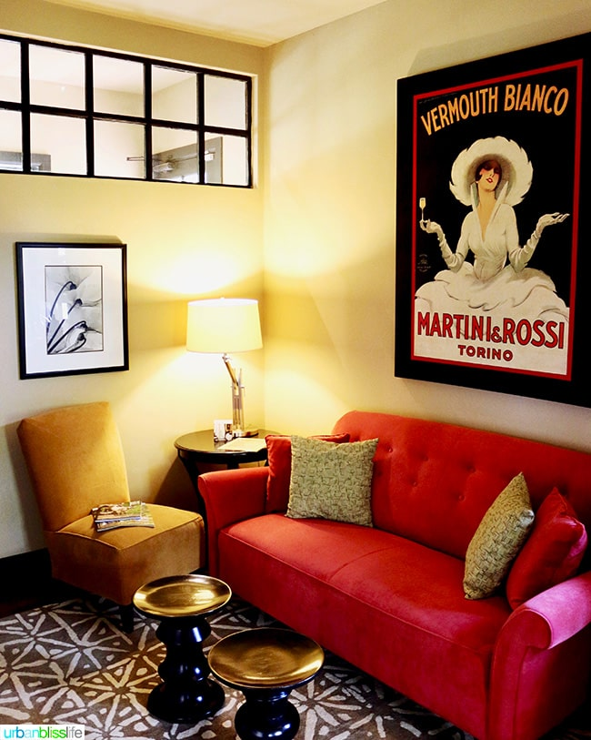 The Madrones guest room
