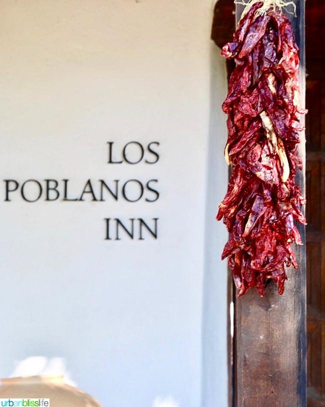 chiles Los Poblanos Inn Albuquerque New Mexico