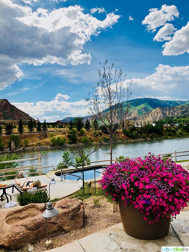warm springs Colorado road trip