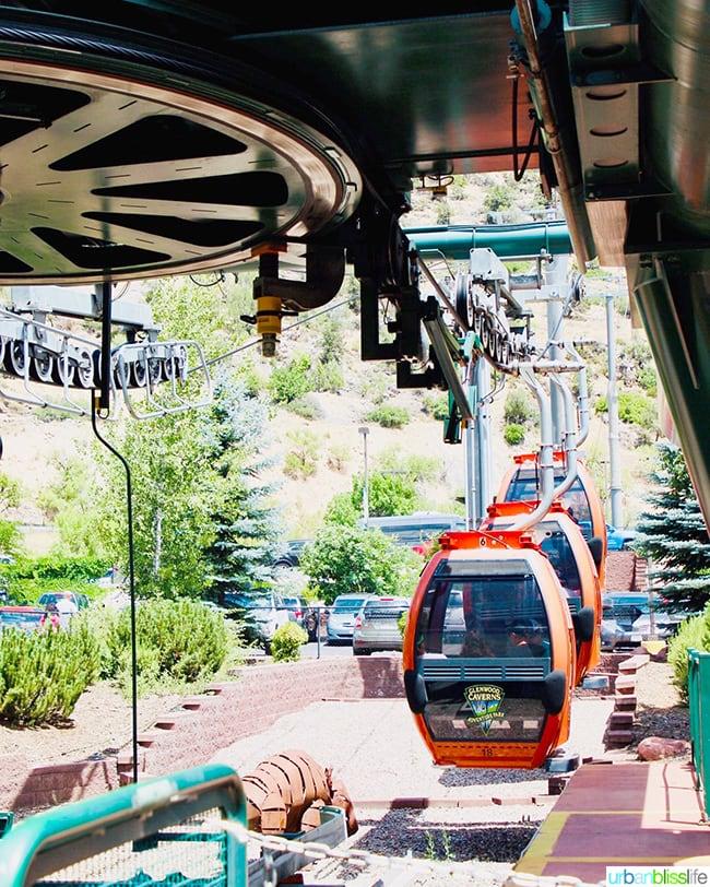 Colorado road trip tram