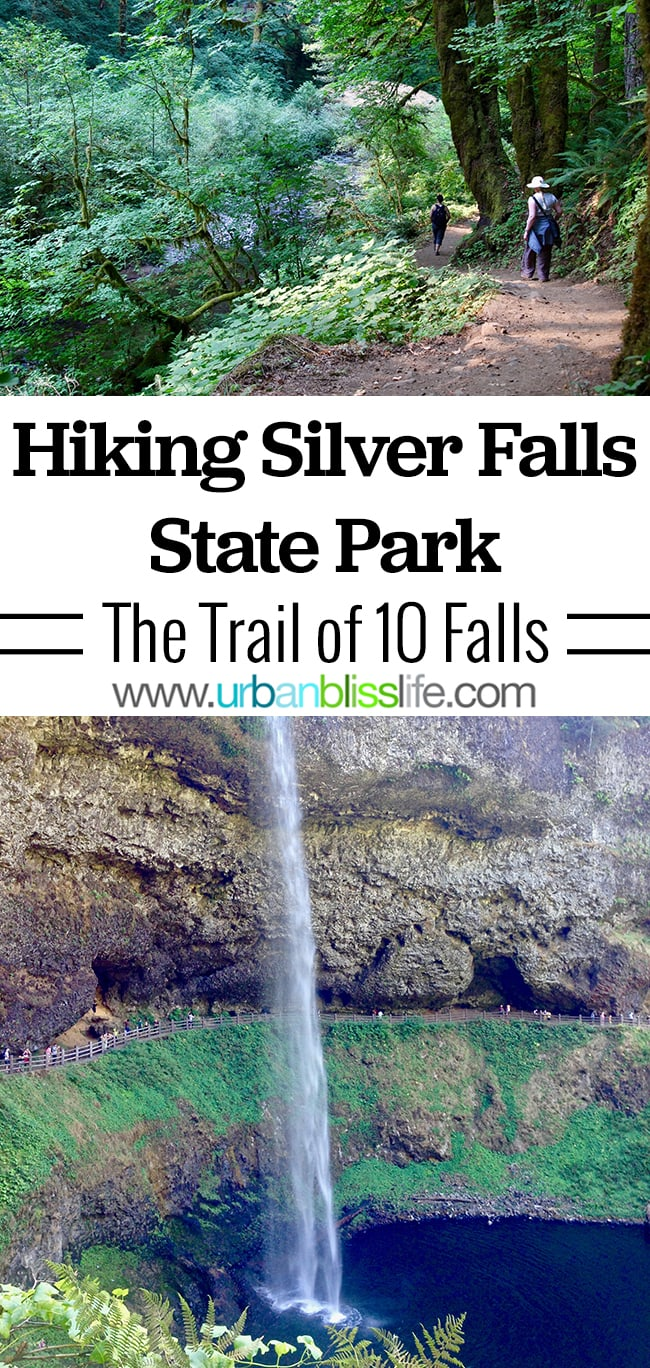 Silver Falls State Park - hiking in Oregon. Travel on UrbanBlissLife.com