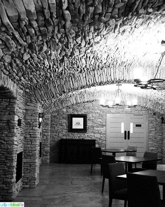 Dundee Hills Domaine Serene underground caves