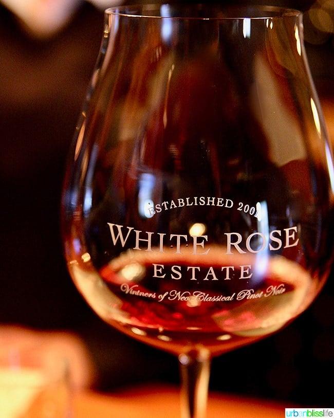 White Rose Estate wine Dundee Hills