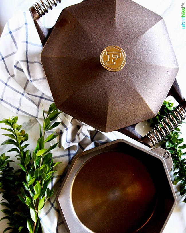 Finex Cookware cast iron Dutch oven and 10 inch skillet