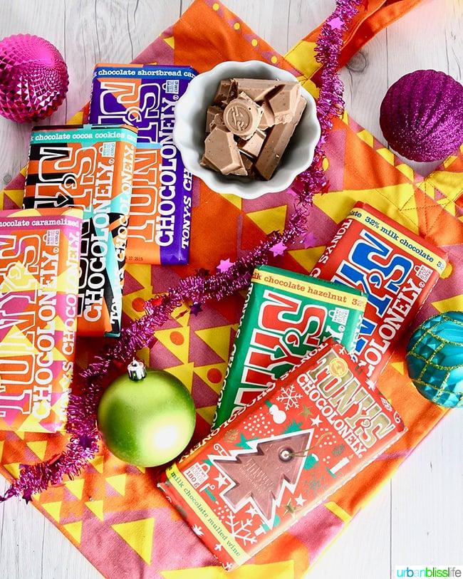 Tony's Chocolonely chocolate