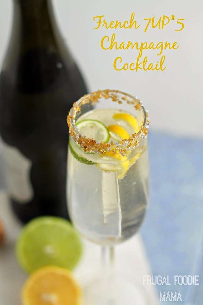 French 7Up5 cocktail
