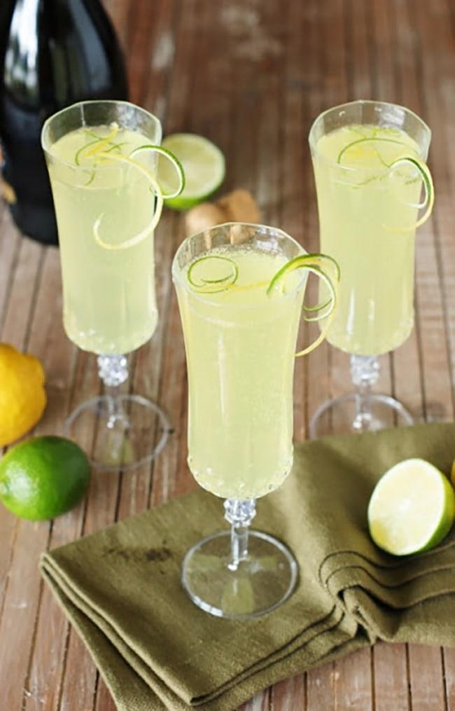 sparkling limoncello cooler