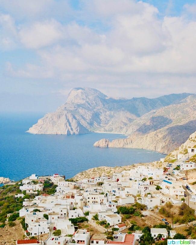 Mesochori Karpathos Island Greece