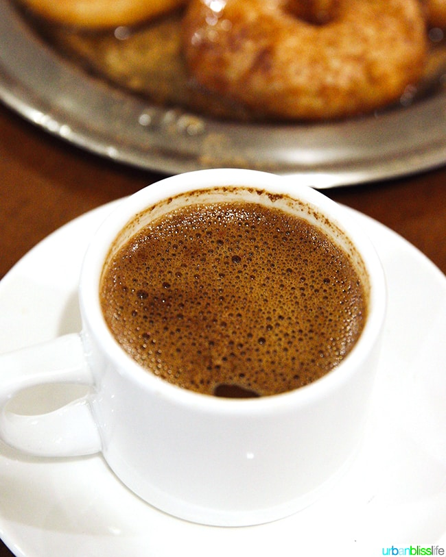 Greek Coffee in Athens, Greece