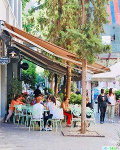 Athens street cafe