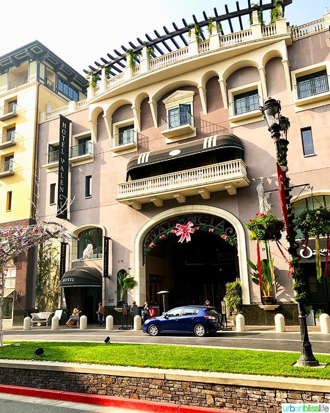 exterior of Hotel Valencia Santana Row