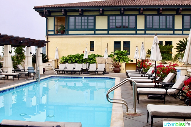rooftop pool at Hotel Valencia Santana Row