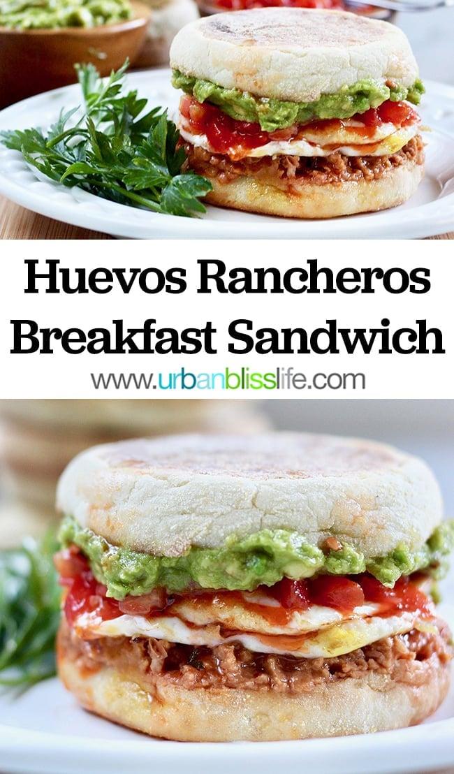 Huevos Rancheros Breakfast Sandwich recipe