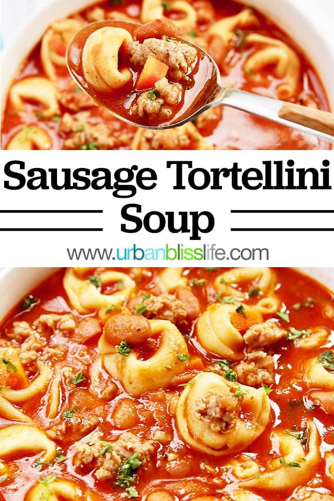 Sausage Tortellini Soup main image