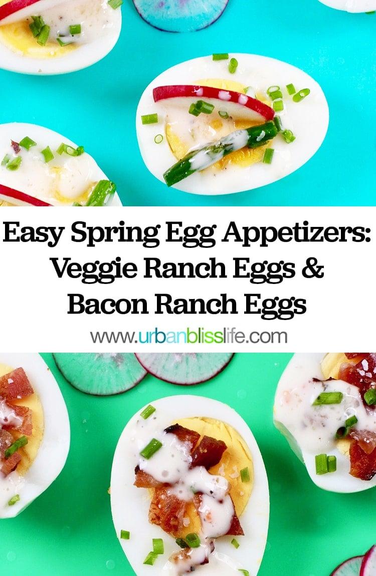 Easy Spring Egg Appetizers