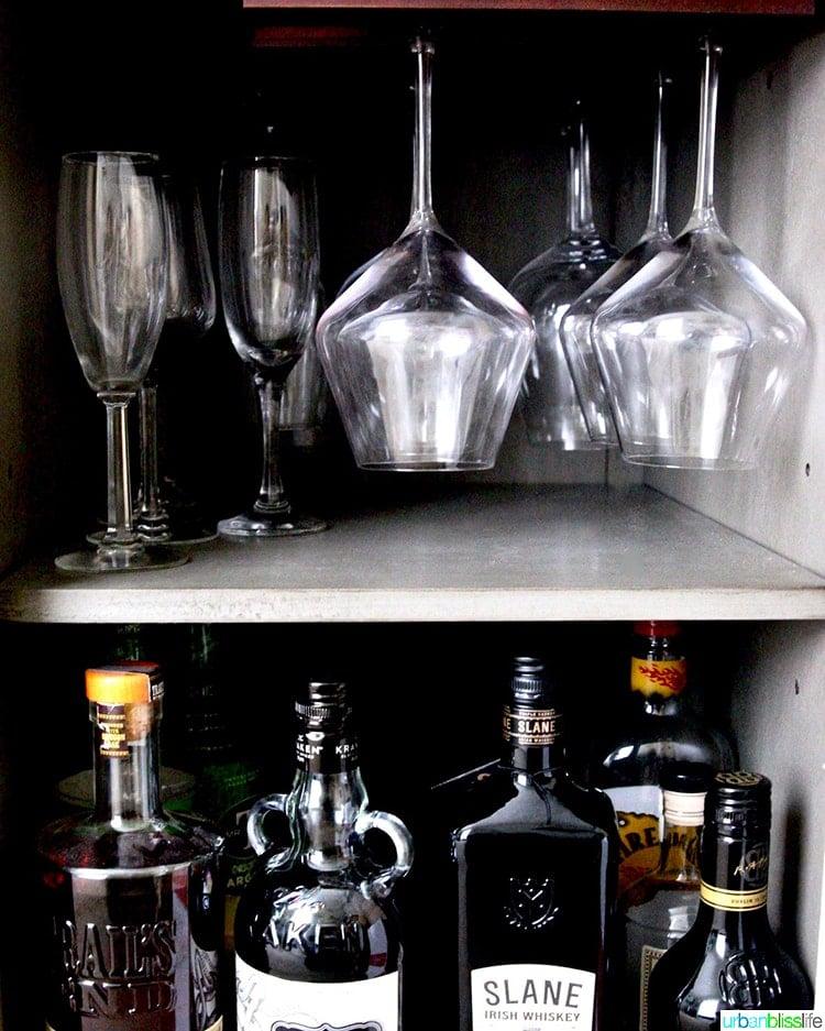 home bar wine glasses