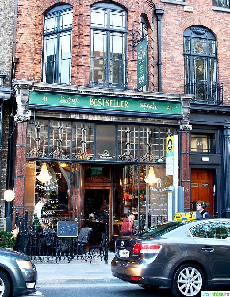 Bestseller cafe wine bar Dublin