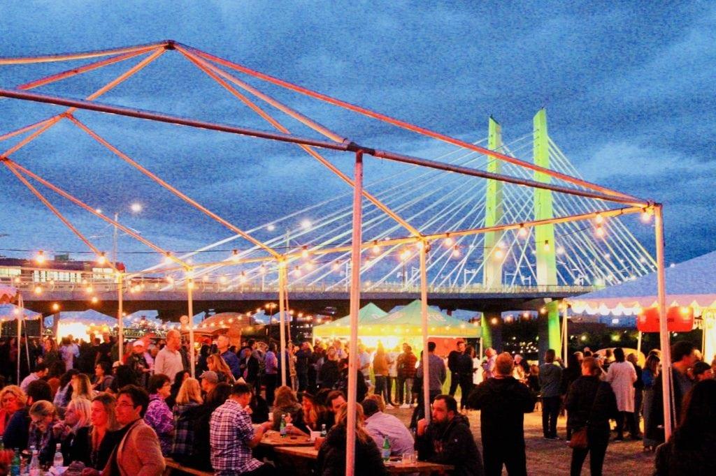 Feast Portland Night Market Tillikum Crossing