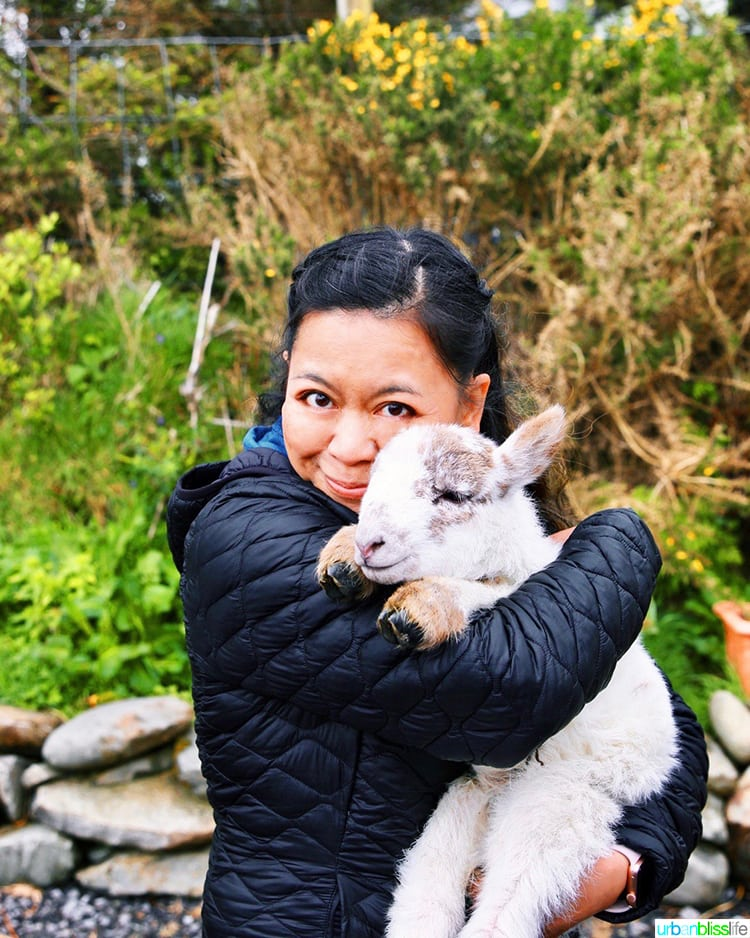Glen Keen Farm Marlynn and goat