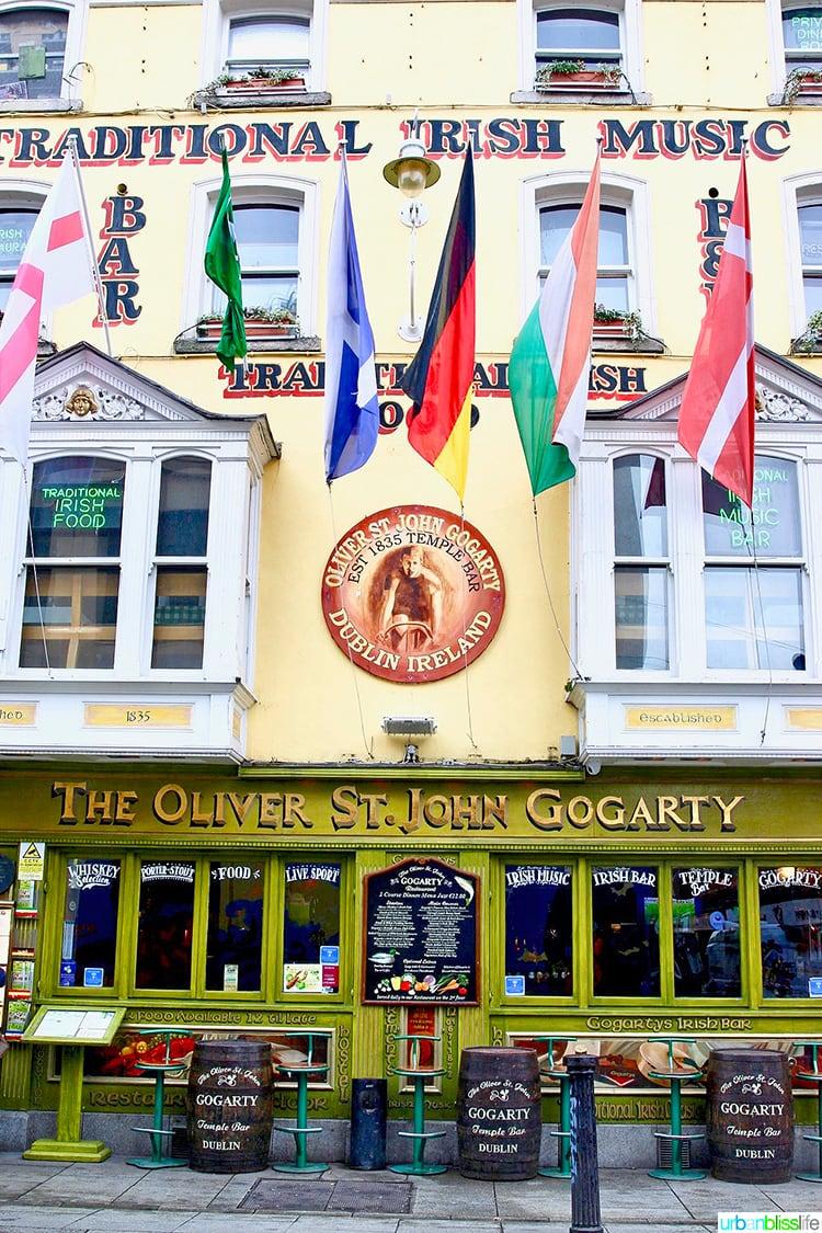 Oliver St John Gogartys Dublin