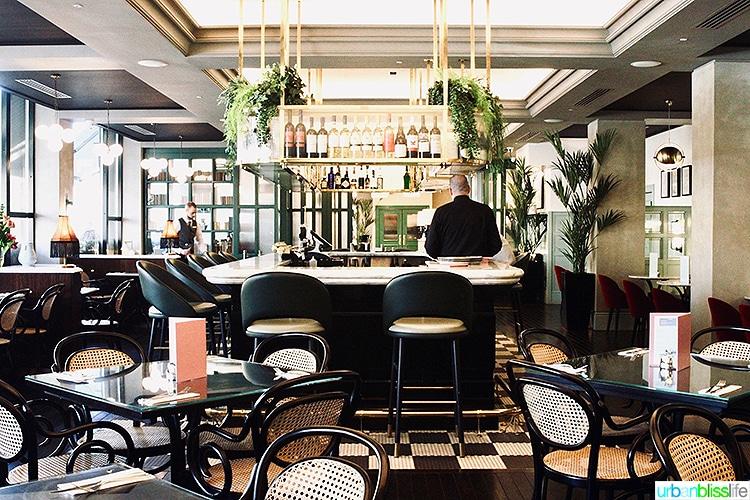 The Green hotel restaurant