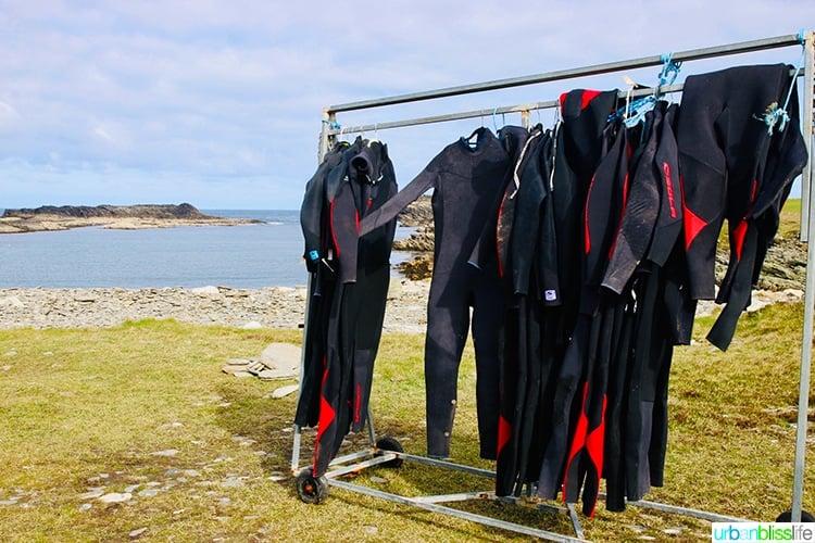 Kayaking wetsuits