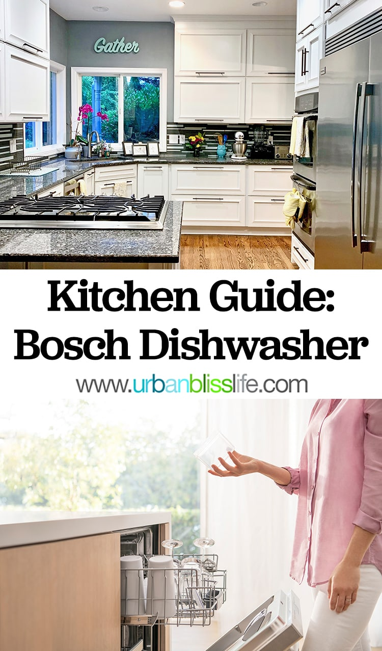Kitchen Guide: Bosch Dishwashers