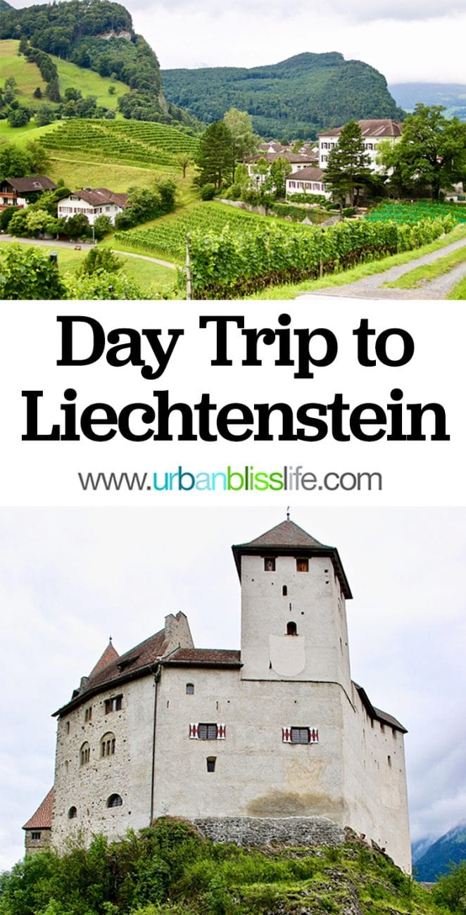 day trip to Liechtenstein