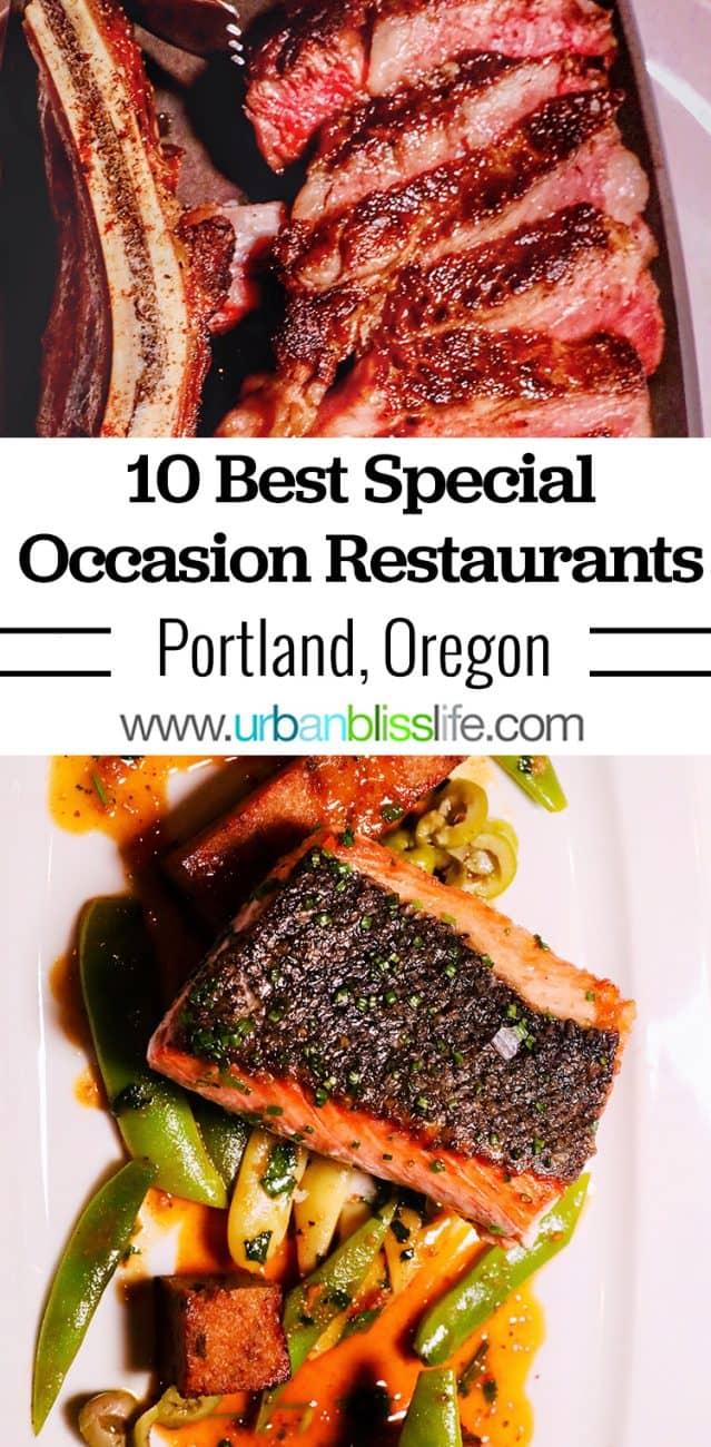 Best Special Occasion Restaurants in Portland, Oregon