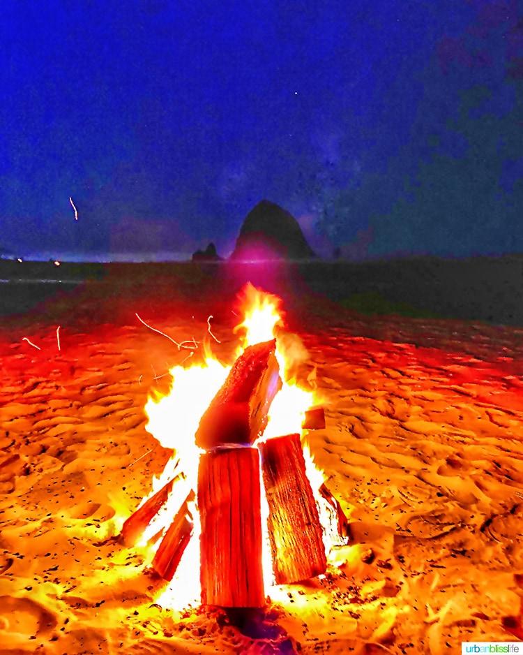 Cannon beach bonfire Surfsand Resort