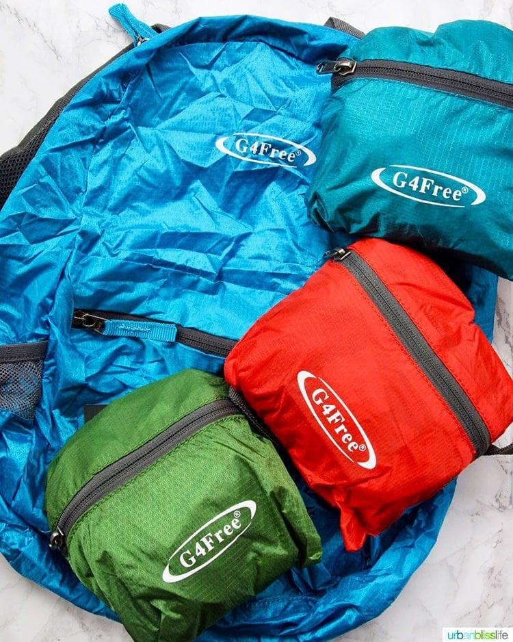 Emergency Go Bags backpacks