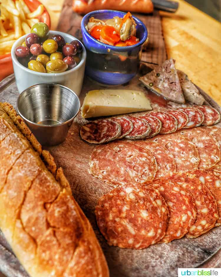 Olympia Provisions charcuterie board