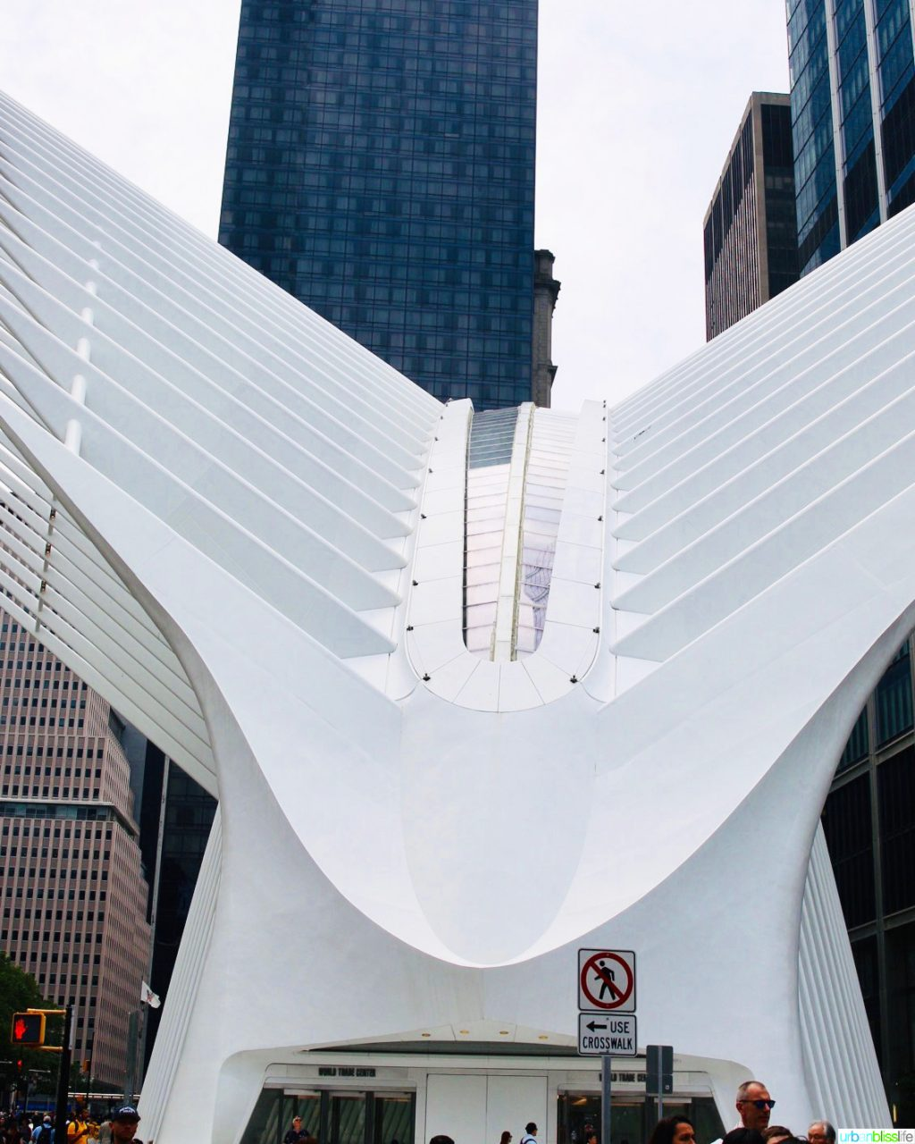 exterior of Oculus NYC