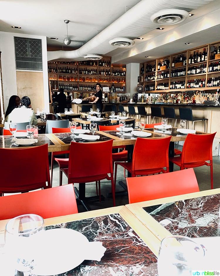 Petrarca wine bar NYC
