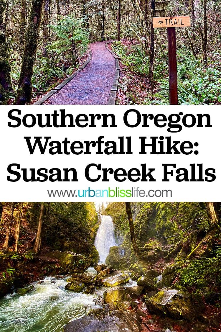 Southern Creek Falls Southern Oregon Waterfall hike