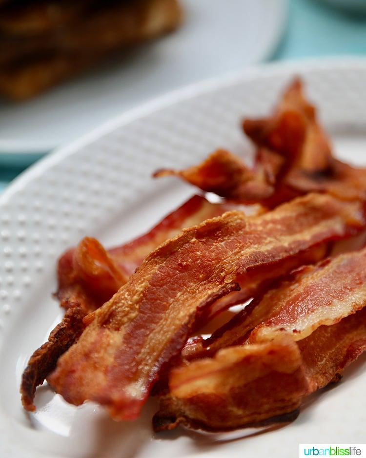air fryer crispy bacon