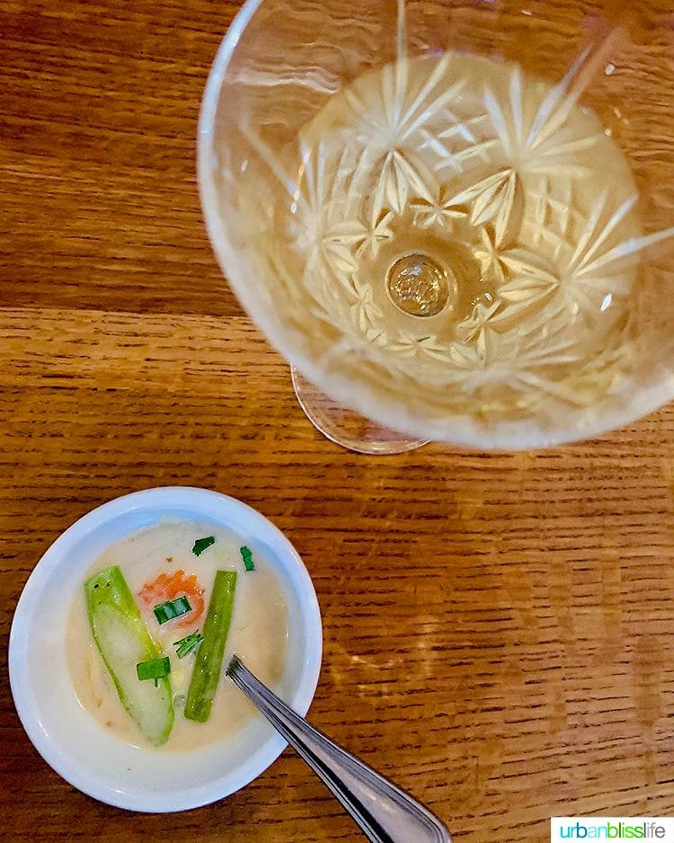 Tom Kha Soup thai food