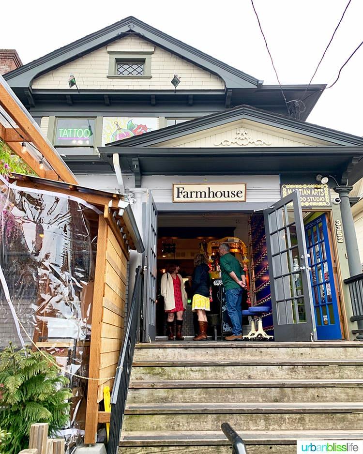 exterior of Farmhouse Kitchen Portland