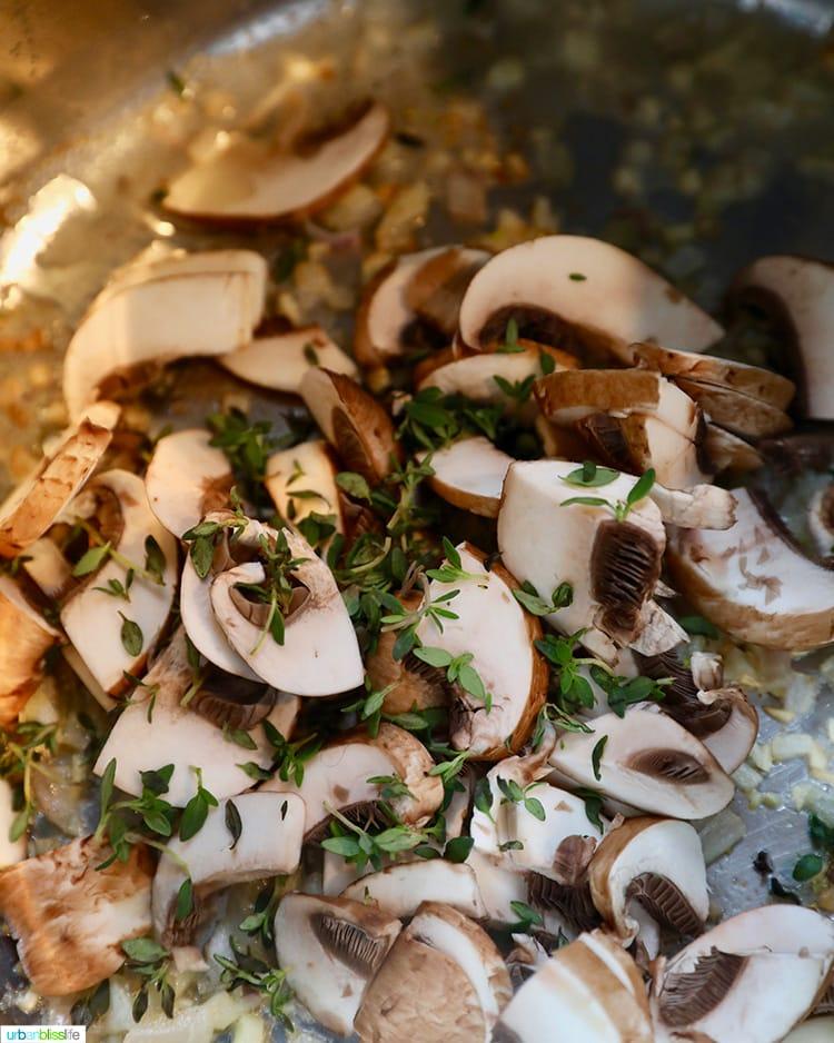 mushrooms in instant pot
