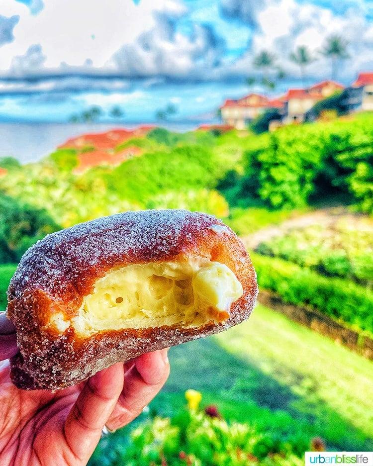 Hawaiian Malasada in Maui